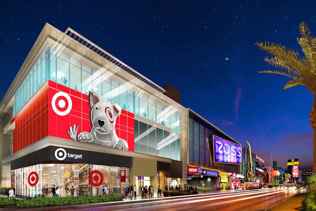 Burlington & Target Coming Soon on the Las Vegas Strip