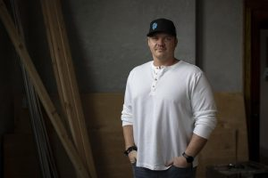 Tyrell Crowell stands in the space that will become the second location of Ohana Poke on Montana Avenue in Billing PC Mike Clark, Billings Gazette