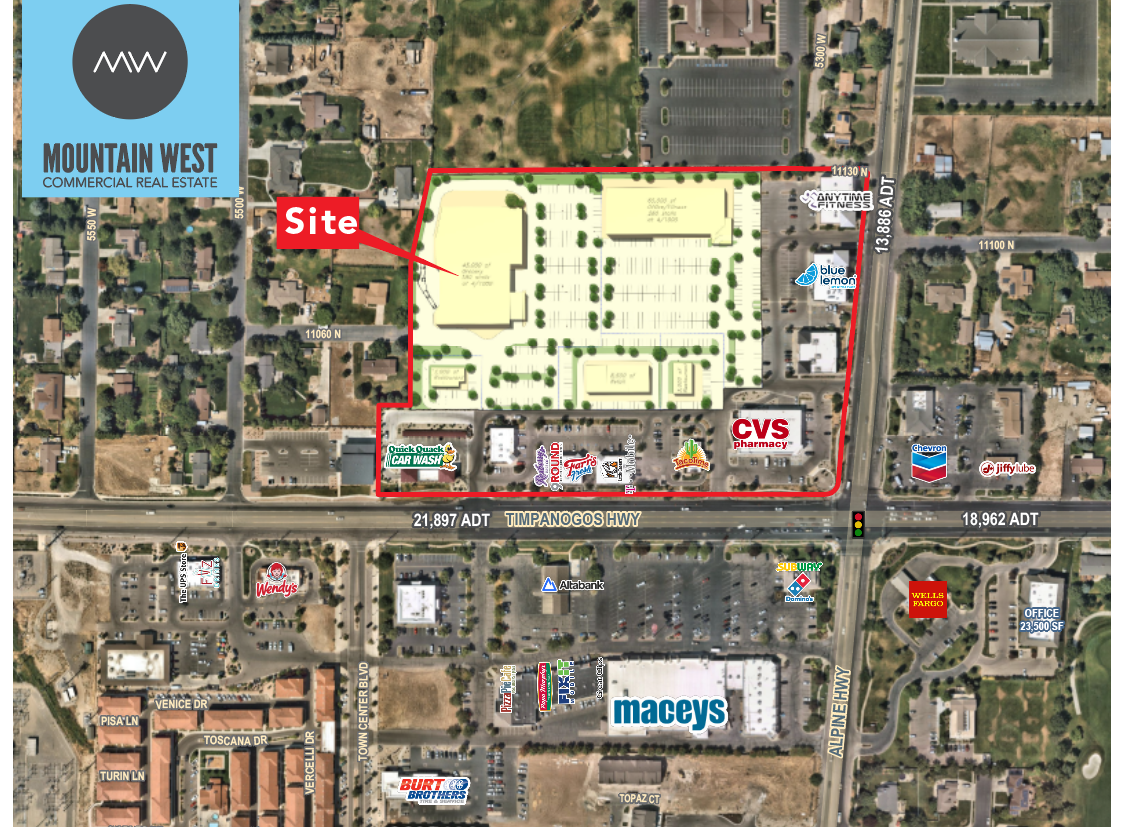 A Long-Awaited Development has Begun at the Highland Marketplace -Located in Highland City, Utah Bordering the Infamous Silicon Slopes